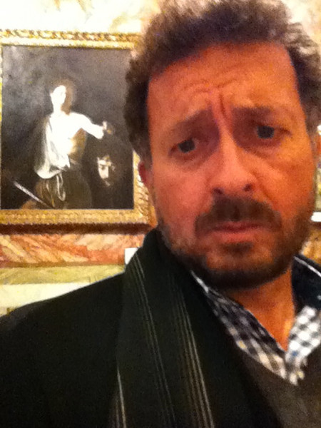 "Caravaggio: ""David with the Head of Goliath""<br />  Galleria Borghese, Rome 12/21/12"