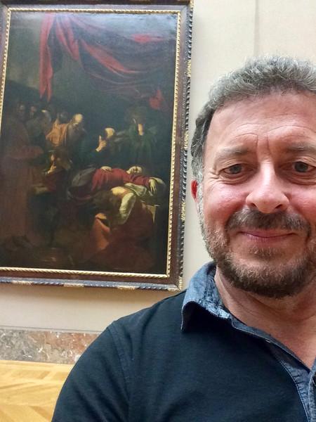 "Caravaggio: ""Death of the Virgin"" Louvre, Paris, France 9/21/16"