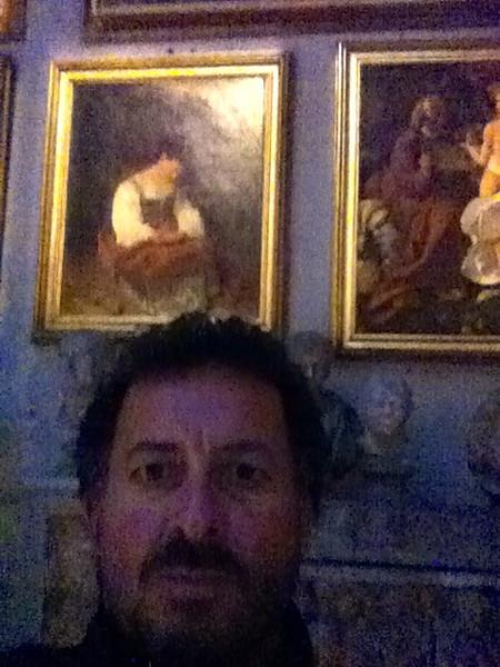 """Caravaggio: """"The Penitent Magdalene""""<br /> Doria Pamphilj Gallery, Rome 12/22/12"""