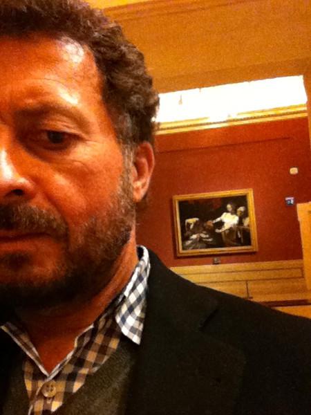 """Caravaggio: """"Judith Beheading Holofernes""""<br /> Galleria Nazionale d'Arte Antica at Palazzo Barberini, Rome 12/21/12"""