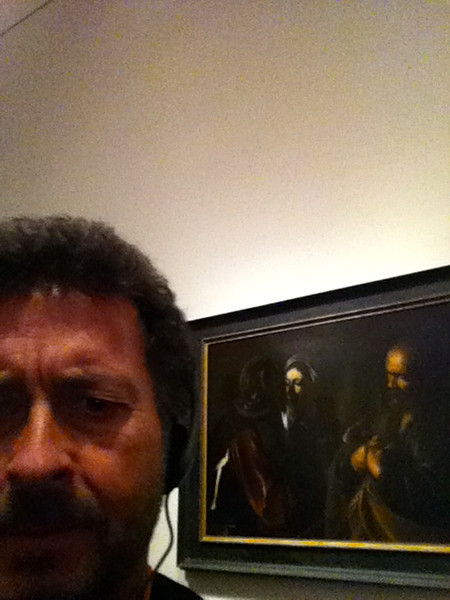 "Caravaggio: ""The Denial of St. Peter""<br /> The Metropolitan Museum of Art, New York.<br /> Viewed at LACMA 1/4/13"