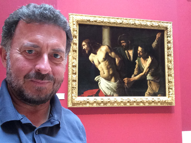 "Caravaggio: ""Christ at the Column"" Musée des Beaux-Arts, Rouen, France  9/22/16"