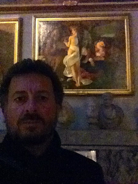 "Caravaggio: ""Rest on the Flight into Egypt""<br /> Doria Pamphilj Gallery, Rome 12/22/12"