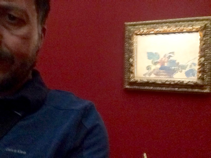 Caravaggio: Basket of Fruit. Biblioteca Ambrosiana, Milano, Italy. 5/26/2016