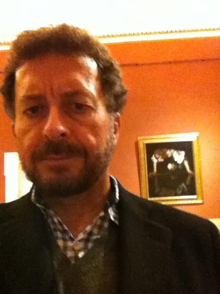 """Caravaggio: """"Narcissus""""<br /> Galleria Nazionale d'Arte Antica at Palazzo Barberini, Rome 12/21/12"""
