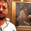 Caravaggio: St. Francis in Meditation. Il Convento dei Cappuccini, Rome, Italy. 6/8/2015