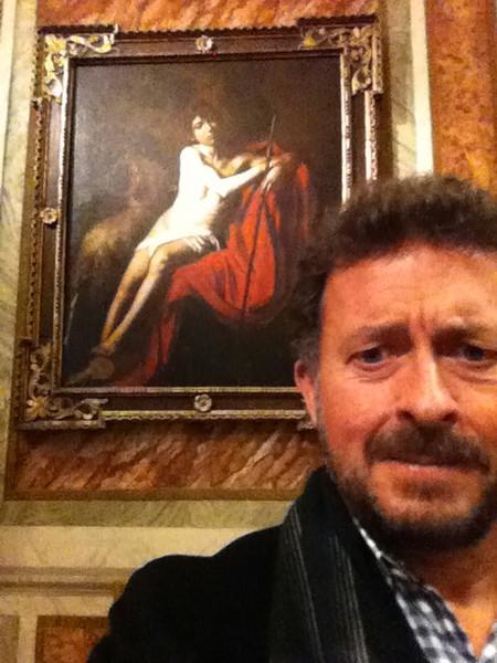 "Caravaggio: ""John the Baptist (John in the Wilderness)""<br /> Galleria Borghese, Rome 12/21/12"
