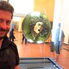 Caravaggio: Medusa. Uffizi Gallery, Florence, Italy. 6/6/2015.