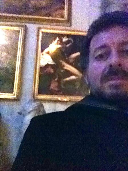 "Caravaggio: ""St. John the Baptist""<br /> Doria Pamphilj Gallery, Rome 12/22/12"