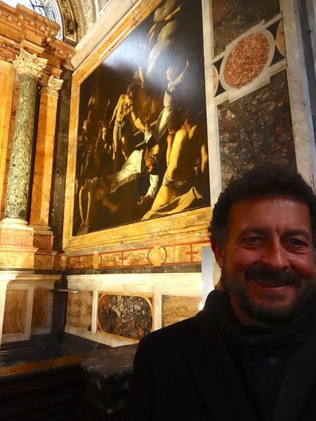 "Caravaggio: ""The Martyrdom of St. Matthew""<br /> Contarelli Chapel of the church of the French congregation San Luigi dei Francesi in Rome 12/23/12"