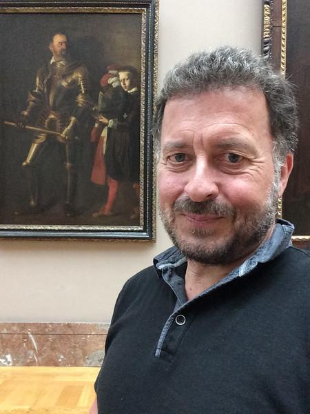 """Caravaggio: """"Portrait of Alof de Wignacourt and his Page"""" Louvre, Paris, France 9/21/16"""