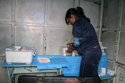Caravana Guamote Comunidad GramaPamba Mayo 2010