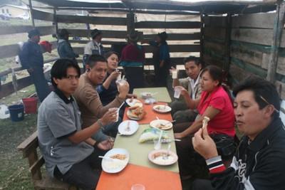 Caravana en la Comunidad Lupaxi Convalecencia - Febrero 2010