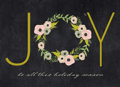 Joy For The Holidays Front
