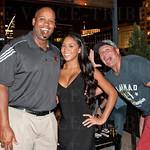 Dre Stubbins, Whiskey Blue's Tiffany Lara and Chris Martinez