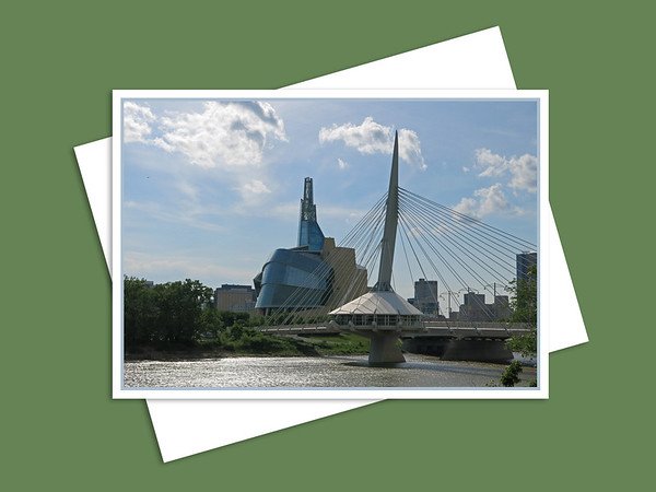 Canadian Museum for Human Rights & Esplanade Riel