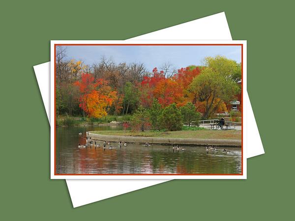 Duck Pond, Assiniboine Park