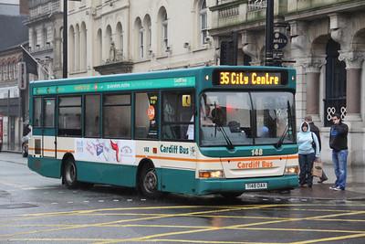 Cardiff Bus 148 Westgate St Cardiff Dec 11