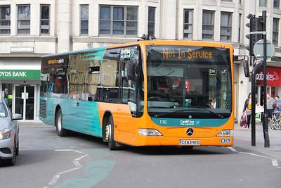 Cardiff Bus 116 Duke St Cardiff Apr 14
