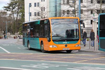 Cardiff Bus 112 North Road Cardiff Apr 14