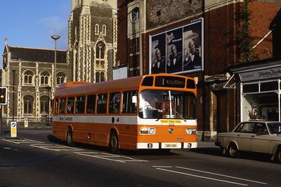 Cardiff Bus 206 Albany Road Cardiff Aug 85
