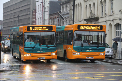 Cardiff Bus 230_362 Westgate St Cardiff Dec 11
