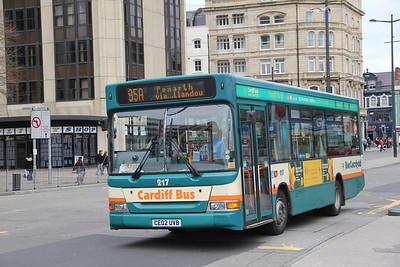 Cardiff Bus 217 Wood St Cardiff Apr 14