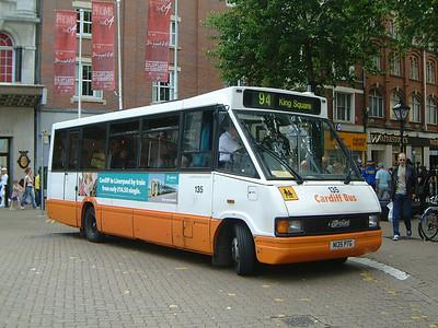 Cardiff Bus 135 The Hayes Cardiff Jun 04
