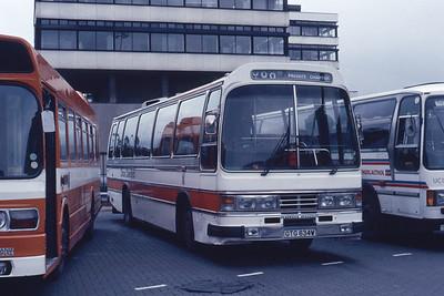 Cardiff Bus 04 Cardiff Bus Stn Aug 85