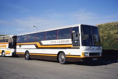 Cardiff Bus 06 Links Rd Aberdeen Oct 85