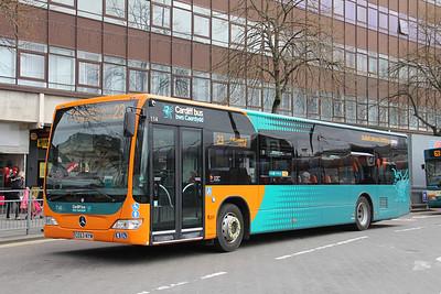 Cardiff Bus 114 Cardiff Bus Station Apr 14