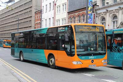 Cardiff Bus 111 Westgate St Cardiff Apr 14