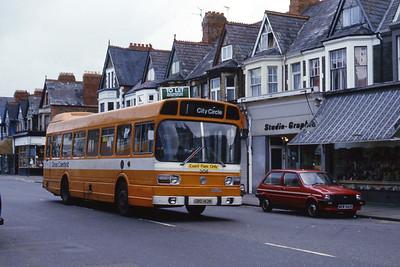 Cardiff Bus 208 Albany Road Cardiff Aug 85