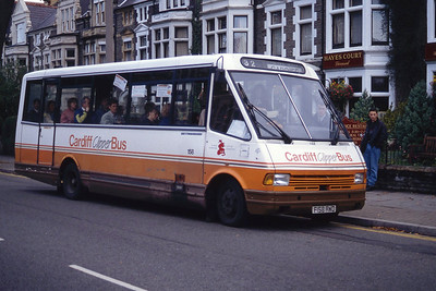 Cardiff Bus 158 Cathedral Rd Cardiff Sep 94