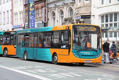 Cardiff Bus 259 Westgate St Cardiff Apr 14