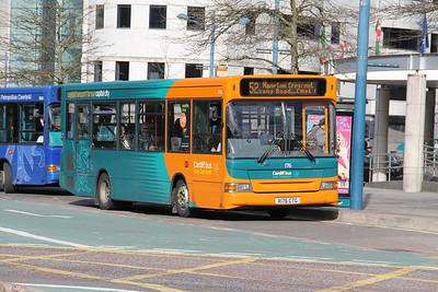 Cardiff Bus 176 North Road Cardiff Apr 14