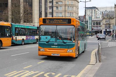Cardiff Bus 228 Wood St Cardiff Apr 14