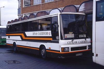 Cardiff Bus 06 Cardiff Bus Stn Sep 94