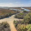 San Elijo Lagoon trail junction in Cardiff By The Sea, California