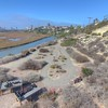San Elijo Lagoon nature center view in Cardiff By The Sea, California