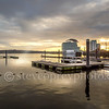 Nearly Sunset In Cardiff Bay