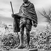 Ghandi Statue - Cardiff