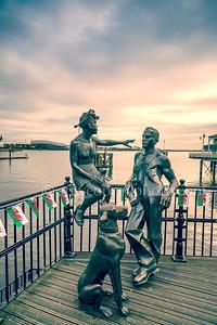 People Like Us Bronze Statues