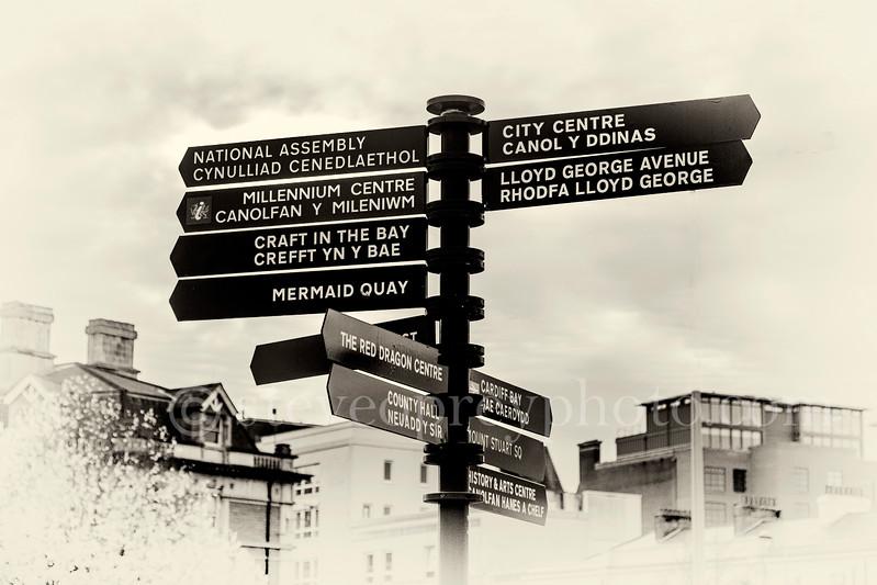 Signposts Cardiff