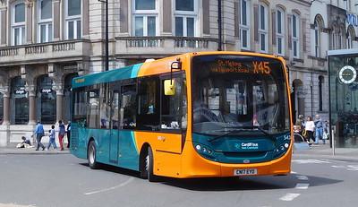 543 - CN17EYO - Cardiff (St. Mary Street)