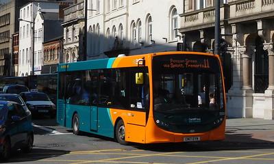 550 - CN17EYW - Cardiff (Wood Street)