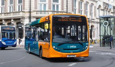 550 - CN17EYW - Cardiff (St. Mary Street)
