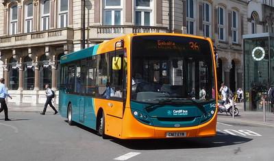 542 - CN17EYM - Cardiff (St. Mary Street)
