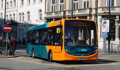 549 - CN17EYV - Cardiff (Wood Street)