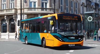 560 - CN17BHE - Cardiff (St. Mary Street)